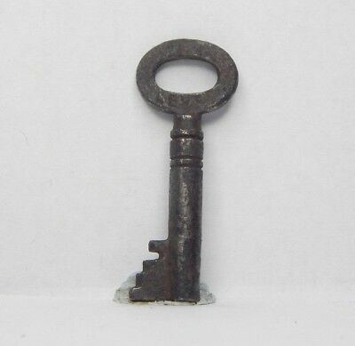 Antique Victorian cabinet Key 1.5 inch  Gothic box Caddy  drawer am