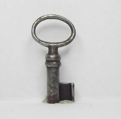 Antique Victorian Cabinet Key 1.5 inch  Gothic box Caddy  drawer ae