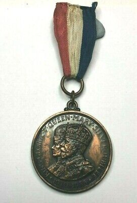King George V  Queen Mary Jubilee Medal From Thornton Cleveleys District Council