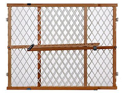 NORTH STATE IND INC Portable Gate, Diamond Mesh, 26.5-42 x 23-In. 4604