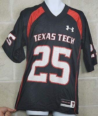 ac86f409 Texas Tech Red Raiders NCAA Men's Under Armour Football Jersey T Shirt  Bundle S