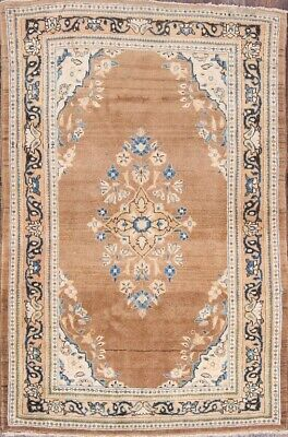 """Approx 4/'x5/' 9/"""" 4x6 Sphinx Floral Vintage Casual Ivory 502I5 Tie-Dye Area Rug"""