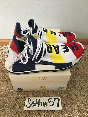 af75f5fd7351d Adidas x Pharrell Williams BBC NMD HU BB9544 Billionaire Boys Club Size 11  w rpt