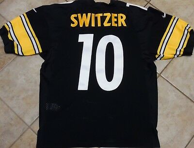 premium selection dc454 9d72b PITTSBURGH STEELERS JERSEY Ryan Switzer Authentic Jersey Nike Size 44