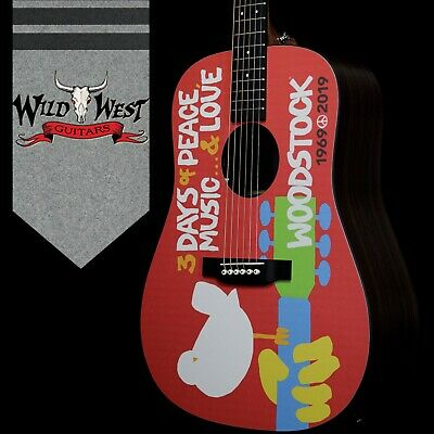 Martin Special Edition DX Woodstock 50th Electric-Acoustic Guitar