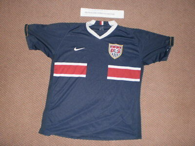 ff945e03b VINTAGE NIKE USA Soccer Jersey Top Mens Small United States National ...
