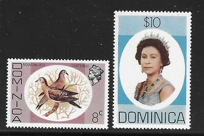 Dominica    Sc 461 And Sc 471      Mint Never Hinged