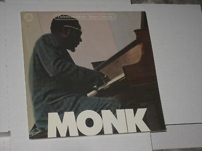 33 rpm THELONIOUS MONK tokyo concerts COLUMBIA C2 38510(dbl alb.)nice SEE PICS