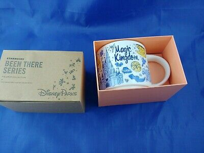 NEW Starbucks Been There Series Magic Kingdom Mickey Ceramic Coffee Mug Sold out