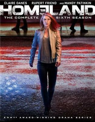 Homeland: The Complete Sixth Season (DVD,2018)