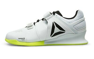 1cabda4365fff0 Reebok Legacy Lifter Crossfit Lifting Shoe Mens Size 9 White Rich Froning  CN4514