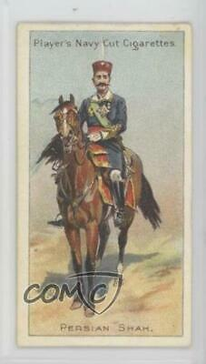 1905 Player's Navy Cut Riders of the World Tobacco Persian Shah #45 2k3