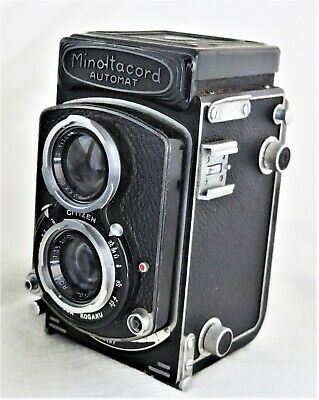 Minoltacord Automat TLR Camera / Rokkor 75mm f/3.5 Lens As-is Issues