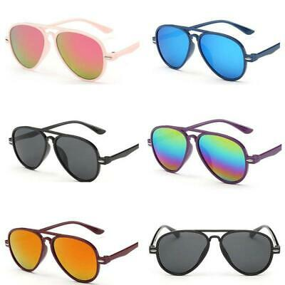 Childs Kid Boy Girl UV400 Outdoor Summer Sunglasses Shades Baby Goggles Glasses