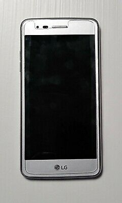 LG ARISTO M210 16GB Android Smartphone Silver T-Mobile Excellent