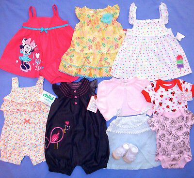 Clothing, Shoes & Accessories Baby & Toddler Clothing Euc 0-3 Month Girls Clothing Huge Lot!!
