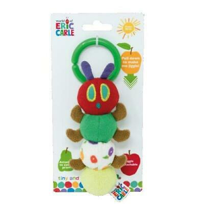 NEW The Very Hungry Caterpillar Tiny Caterpillar Jiggle Attachable Plush Toy