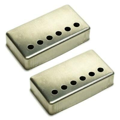 Fralin 50mm Humbucker Pickup Covers Set of 2 Raw Nickel