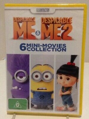 DESPICABLE ME: 6x Mini Movies Collection. R4 DVD Brand NEW! Family -Short Films.
