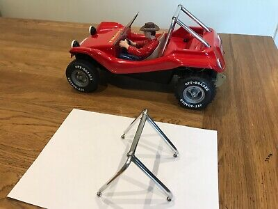 Solid Alloy Rollbar Cage For Vintage Rc Tamiya Sand Rover Street Rover