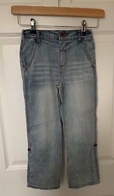 BNWT Boys NEXT Soft Denim Adjustable Leg Jeans - Age 5-6 Years