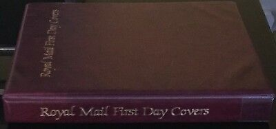 ROYAL MAIL FIRST DAY COVER ALBUM 8 SLEEVES- HOLDS 32 COVERS+4 LARGE (NoL234)***