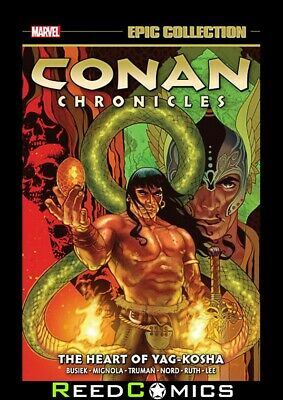 CONAN CHRONICLES EPIC COLLECTION THE HEART YAG-KOSHA GRAPHIC NOVEL (504 Pages)