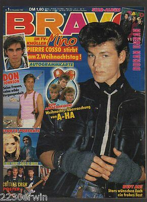 Bravo 1 /22.12.1986 / Don Johnson,Chris De Burgh,Debbie Harry /+Pierre Cosso-Ak