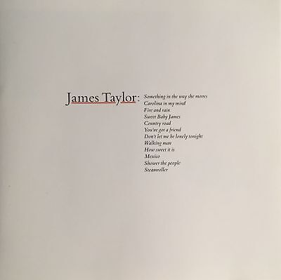 James Taylor Greatest Hits CD