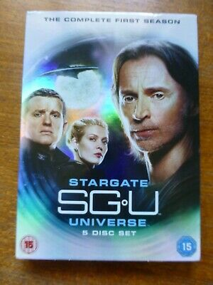 Stargate Universe DVD, Complete Season 1 with cover sleeve