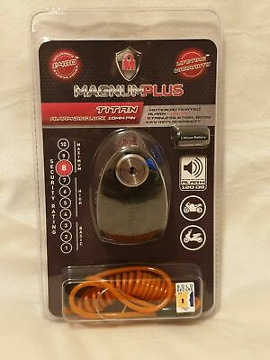 Magnum Plus Titan Alarm Disc Lock 10mm Pin