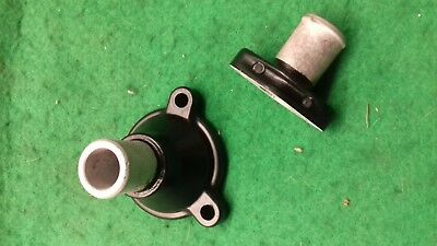 Yamaha Rd 350 Lc Ypvs  Thermostat Housing & Watr Pipe Union Powder Coated