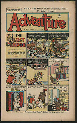 Adventure 1235. Classic Boys' Paper Issue From Significant Collecton