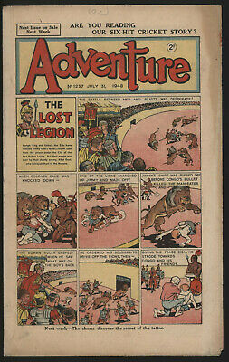 Adventure 1237. Classic Boys' Paper Issue From Significant Collecton