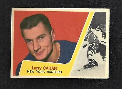 1963 Topps #51 Larry Cahan Vintage New York Rangers NHL Hockey 1963-64