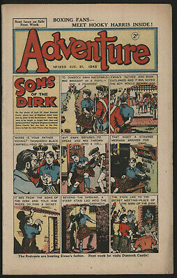 Adventure 1239. Classic Boys' Paper Issue From Significant Collecton