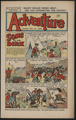 Adventure 1249. Classic Boys' Paper Issue From Significant Collecton