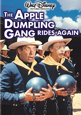 The Apple Dumpling Gang Rides Again (DVD,1979)