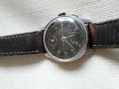 Antique,Vintage Venus Cal 170 Chronograph Watch for parts