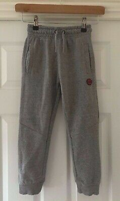 Boys NEXT Sport Grey Marl Joggers Jogging Bottoms - Size 6 Years