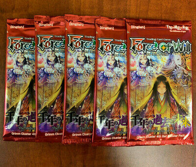 Force of Will The Millennia of Ages Bosster Packs(5)