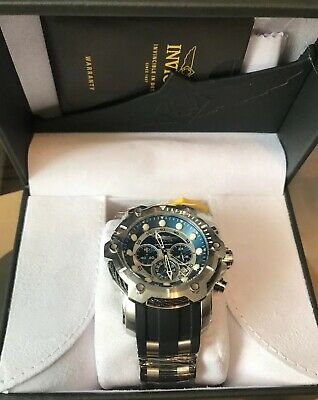 541087866 Invicta BOLT Men's 51mm Chronograph Blue Dial Stainless Steel Watch 26750