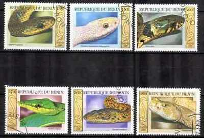 Bénin 1999 Serpents (30) Yvert n° 914 à 919 oblitéré used