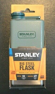 Stanley Adventure 8 oz Insulated Stainless Steel Flask NIB