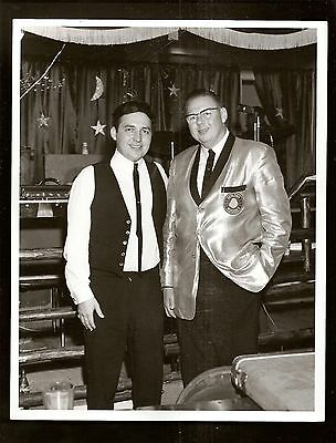 1960's Photo Golden Nugget Casino Employee Unknown Entertainer Magician ? 8 x10