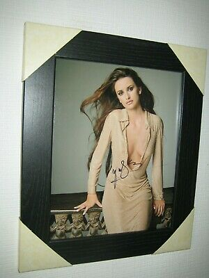 Penelope Cruz  - Gorgeous Signed Photo With CoA (8x10) In A Lovely Black Frame