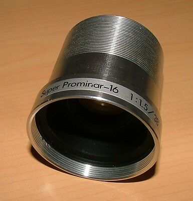 KOWA SUPER PROMINAR 38mm LENS FOR BELL & HOWELL 16mm PROJECTORS GREAT CONDITION