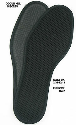 Odour Kill- Super fresh charcoal insoles black