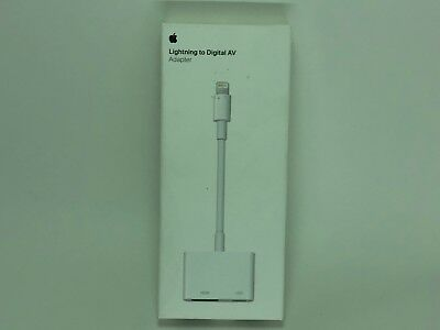 GENUINE Apple Lightning AV Cable to HDMI Port Adapter for iPhone XS XR 7 8 X SE