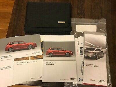 2012 Audi A3 Tdi Owners Manual